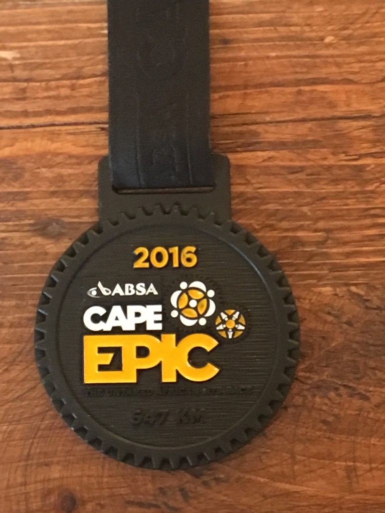 I rode uphill a lot for 8 days and all I got was this bit of hardware.